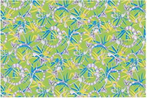 Материал: Canvas, Цвет: Lemurs_green