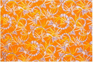 Материал: Canvas, Цвет: Lemurs_terra