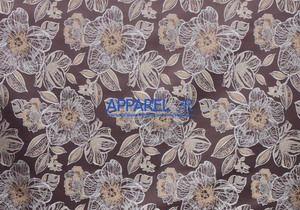 Материал: Жасмин (Jasmin), Цвет: flowers_brown