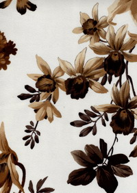 Материал: Kamelia, Camomile, Lilium, Tulip (), Цвет: Lilium_Beige-Brown