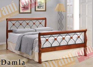 Кровать Onder Metal Metal&Wood Damla 200x160см