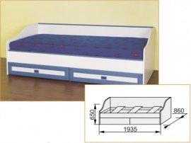 Кровать нижняя №1 Твинс