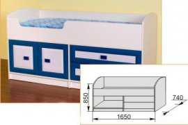 Кровать нижняя №3 Твинс