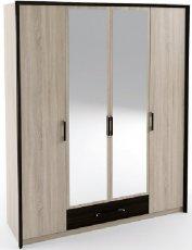Шкаф 4 двери Скарлет