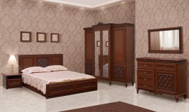 Двуспальная кровать Ливорно 160х200 см