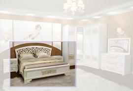 Двуспальная кровать Полина новая 2-сп 160x200