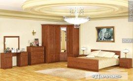 Модульная спальня Даллас