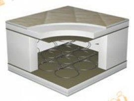 Односпальный матрас Мexiko Plus — 80x200 см