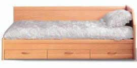 Односпальная кровать 1-сп (без матраса) Вояж