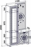 Шкаф МБ-10 Монблан