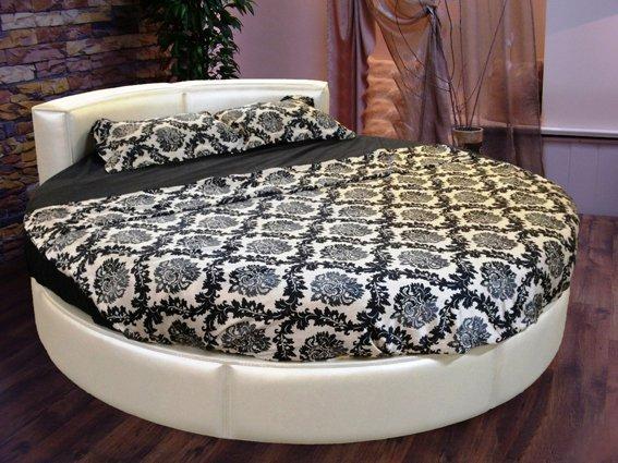 круглая кровать диана 180x220 47040 грн продажа по украине