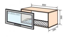 Модуль №17 вс 800-360 верх кухни