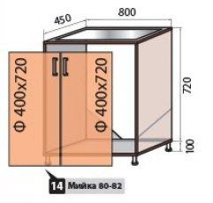 Модуль №14 м 800-820 низ кухни