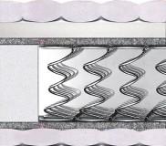 Полуторный матрас Lyon — 140x200 см