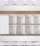 Двуспальный матрас Delhi — 160x200 см