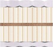 Двуспальный матрас Latex Kokos — 160x200 см