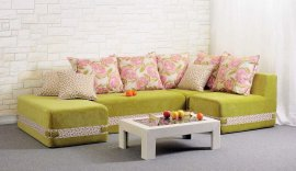 Бескаркасный угловой диван Максимус