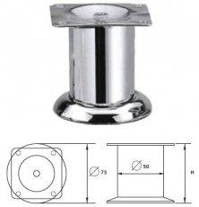 Опора металлическая MZ-144 хром