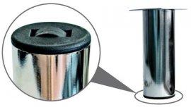 Опора металлическая MZ-1810 R хром