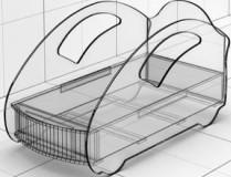Кровать KM-280/380/420-2 Ультра