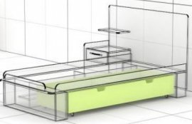 Ящик к кровати L-01 Ультра