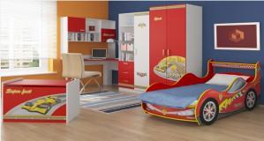 Кровать-машинка KM-380-1/2 Спорт