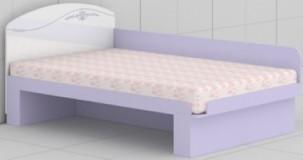 Кровать с быльцем L-26/27 Гламур