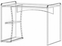 Стол T-ST-01 Троянда