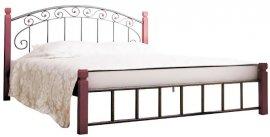 Полуторная кровать Афина дерево - 140х190-200см