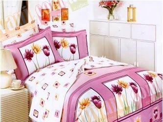 Полуторный комплект постельного белья Сoleen -К001-Подих весни