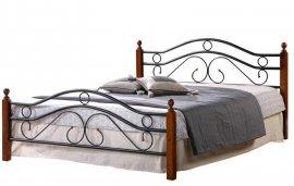 Двуспальная кровать кованая UF-9027 160 x 200 Green Line