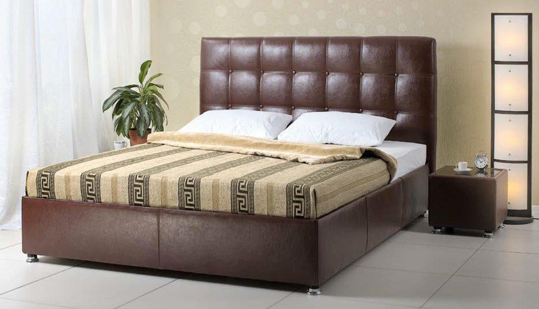 Двуспальная кровать с матрасом купить в одессе город пушкино наматрасники