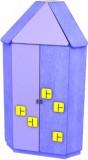 Шкаф угловой  Угловик  Б8 Лунная сказка