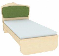 Кровать с одинарной тканевой накладкой К 1-6 (цт-1) Планета Луна