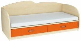 Кровать с выдвижным увеличением спального места К 1-7 Планета Луна