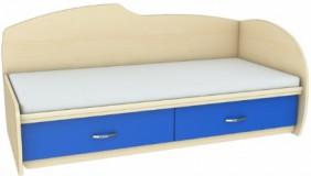 Кровать с выдвижным увеличением спального места КЛ 1-81/КП 1-82 Планета Луна