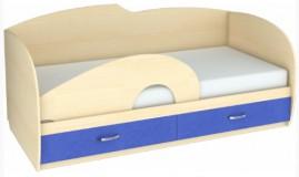 Бортик к кровати Б-2 (фигурный из ДСП) Планета Луна