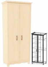 Шкаф-гардероб ШГ 4-2/2 (базовая комплектация) Прованс