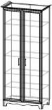 Шкаф книжный ШК 4-13 (базовая комплектация) Прованс