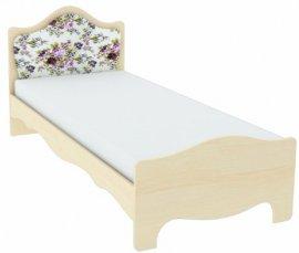 Кровать с тканевой накладкой накладки К 4-5 Прованс