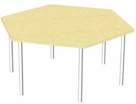 Стол шестигранный Детcад