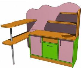 Стенка детская игровая  Кухня  №5 Детcад