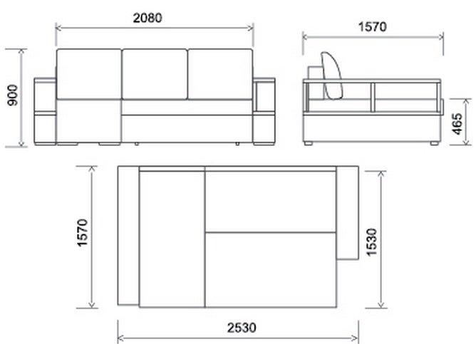 комната кухни дизайн угловие