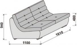 Модуль углового дивана Инфинити 2