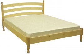 Двуспальная кровать Л-204 160х200см