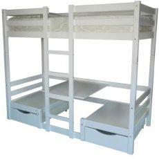 Двухъярусная кровать-трансформер Л-304 (со столиком)