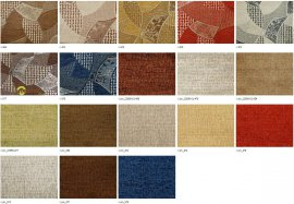 Шенилл Мозаика (Mozayka) ширина 140см - Распродажа остатков