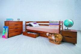 Детская кровать Марио с ящиками - 90х190см