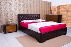 Кровать Милена мягкая спинка (ромбы) с подъемным механизмом - 120х190-200см