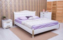 Кровать Монако(прованс) мягкая спинка (квадраты) - 120х190-200см